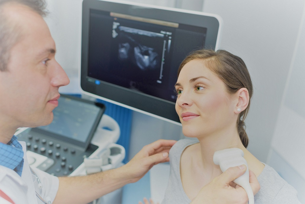 Ultrasound of cervical soft tissues
